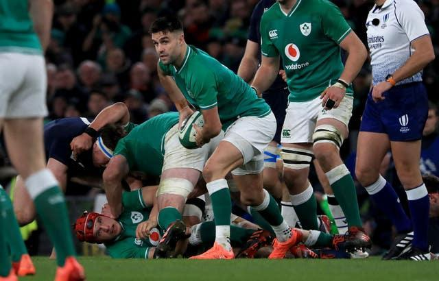 Scrum-half Conor Murray returns to Ireland's squad following two games out with a hamstring injury