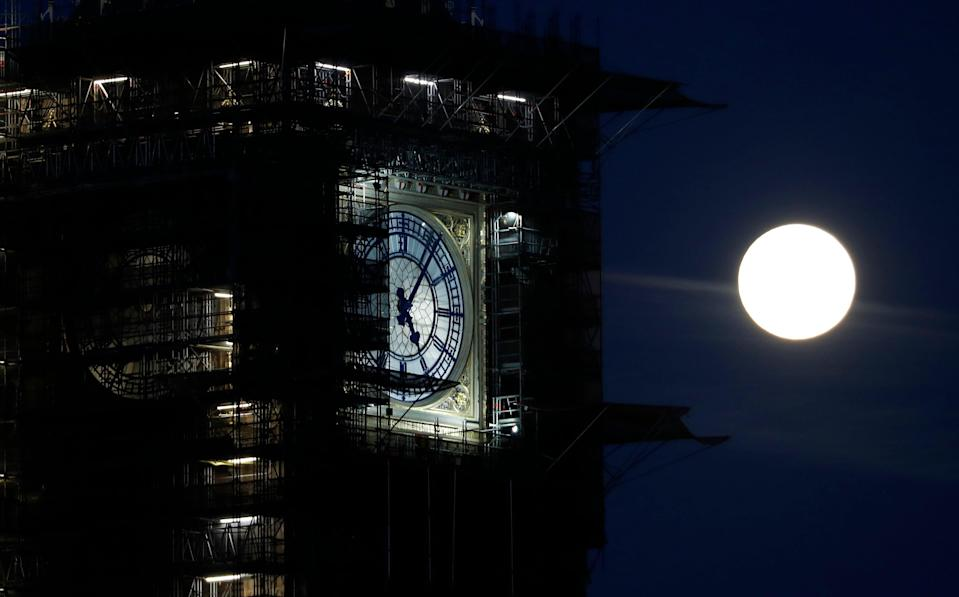 <p>Early next year the bells, including Big Ben, will be reconnected to the original Victorian clock mechanism</p> (AP)