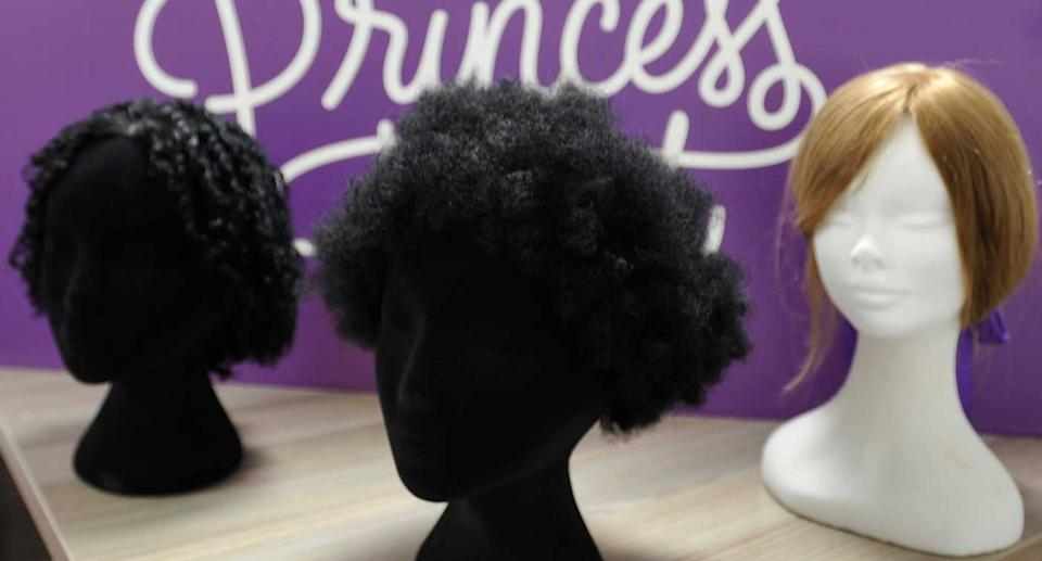 Little Princess Trust is committed to offering more Afro wigs in the future. (Little Princess Trust)