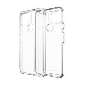 The Gear4 Crystal Palace for Pixel 5 is an ultra-protective transparent phone case with 13-foot drop protection and an anti-yellowing clear design with dye-transfer resistance