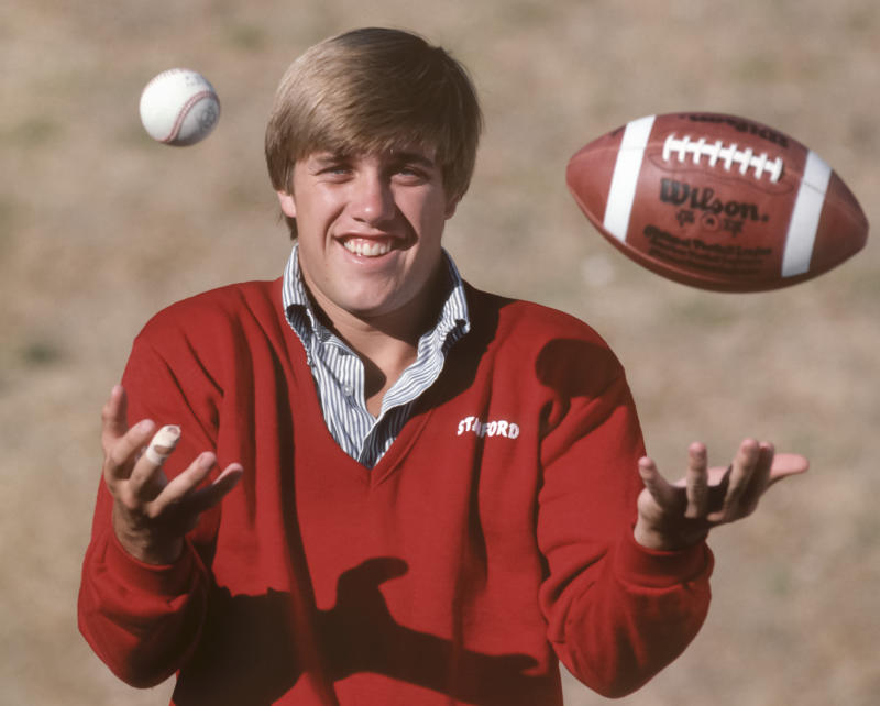 John Elway had a decision to make coming out of high school and college. for what sport he's choose. (Photo by David Madison/Getty Images)