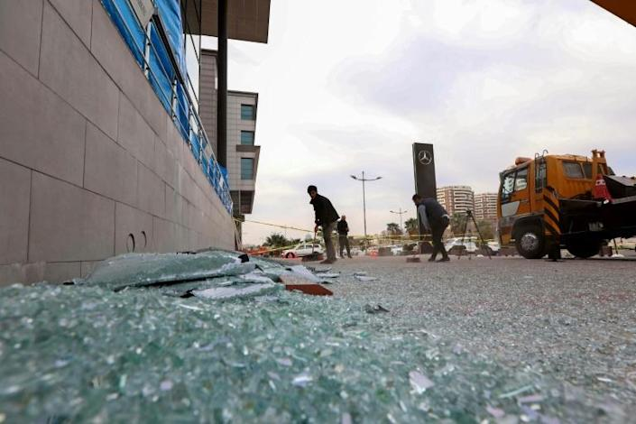 Rockets are again raining down on US targets in Iraq in attacks that, analysts say, show Iran-aligned factions are heaping pressure on the government