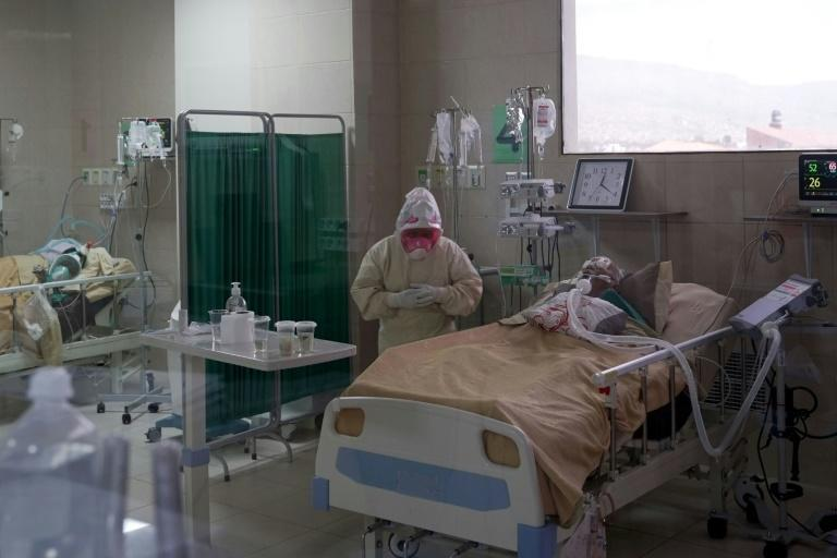 Cochabamba, a central Bolivian city in the Andes some 2,600 meters above the sea level, has been averaging about 850 cases of Covid-19 per day for several months