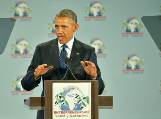 Obama calls for gay rights in Africa, challenges Kenya on corruption