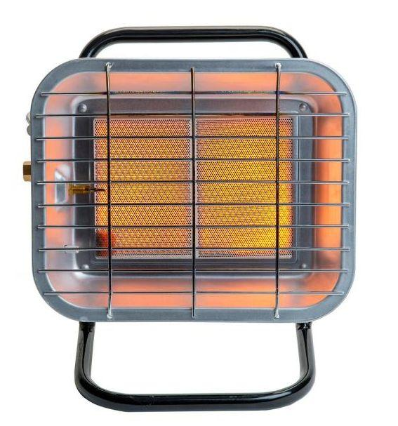 "This 15,000 BTU portable radiant propane heater warms spaces up to 10 square feet. It features an adjustable head to direct heat in your desired direction. <a href=""https://fave.co/3jf7cVy"" target=""_blank"" rel=""noopener noreferrer"">Find it for $78 on Amazon</a>."