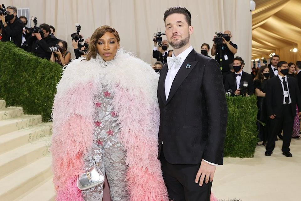 Alexis Ohanian wears NFT of his wife Serena Williams at Met Gala (Getty Images)
