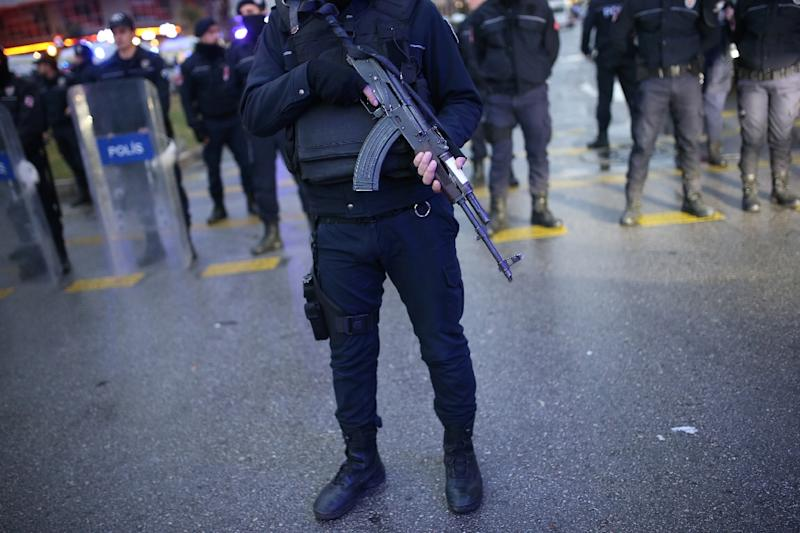 Police officers in Turkey have been conducting raids almost daily against IS cells across the country