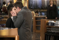 """<p><b>This Season's Theme:</b> The stakes are higher than ever, as Liza's personal and professional lives become even more complicated. """"She has two boys who are giving her attention who are both amazing. She has a great job. It's a fairy tale,"""" star Sutton Foster says. But her romantic relationships are coming to a crossroads and decisions will have to be made. """"Liza is going to have to start asking a lot of hard questions,"""" Foster warns. """"Hearts are going to be broken, I think.""""<br><br><b>Where We Left Off:</b> Liza tried to quit Empirical Publishing after a huge fight with Kelsey, but Charles (Peter Hermann) convinced her to return – and kissed her! But Liza's ex-boyfriend, Josh (Nico Tortorella), also kissed her to try to win her back. <br><br><b>Coming Up:</b> Aside from the big love triangle, Liza is also dealing with upheaval at work. The publishing industry is not in a good place. """"One of our episodes is called 'The Last Day of Books.' And of course, it's affecting Empirical,"""" Foster explains. """"The whole season is about trying to save the company and about the Millennial Imprint that's trying to gain notoriety and new readers."""" And the world is expanding, with more backstory and insight into supporting characters, like Diana Trout (Miriam Shor). Let's just say the buttoned-up boss lets her hair down like we've never seen before.<br><br><b>Sex and the City:</b> """"There's <i>a lot</i> of sex this season,"""" Foster says, laughing. """"For everyone!"""" Kelsey, who lost fiancé Thad in a freak accident, goes on """"a bit of a boy bender,"""" she adds. Co-star Hilary Duff teases, """"And in unexpected places. A lot of public sex this year. A lot of nudity."""" <i>– KW</i> <br><br>(Credit: TV Land)</p>"""