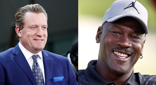 Jeremy Roenick has quite the Michael Jordan story to tell. (Getty Images)