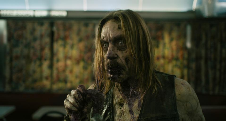 Iggy Pop plays a zombie in Jim Jarmusch's The Dead Don't Die (Universal)
