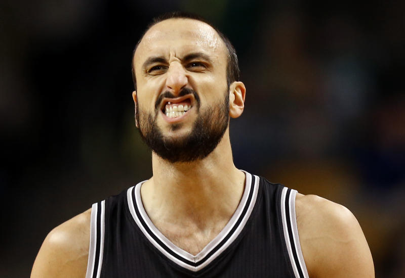 Manu Ginobili has sacrificed more for the Spurs than any man should