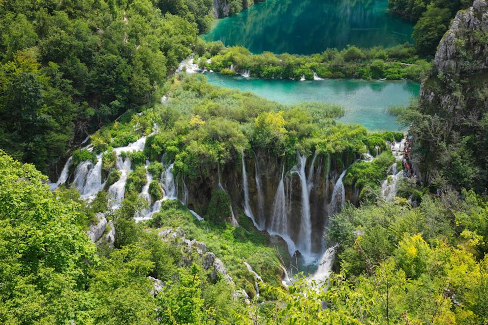 You might have Croatia on your bucket list to see the beaches (or famous filming spots), but don't skip out on Plitvice Lakes in central Croatia. The lakes are the brightest blues and greens, they almost feel fake. The worst part is not being able to jump in for a swim, but it's worth staying out to keep the water as beautiful as it is.Best time to visit: June-September