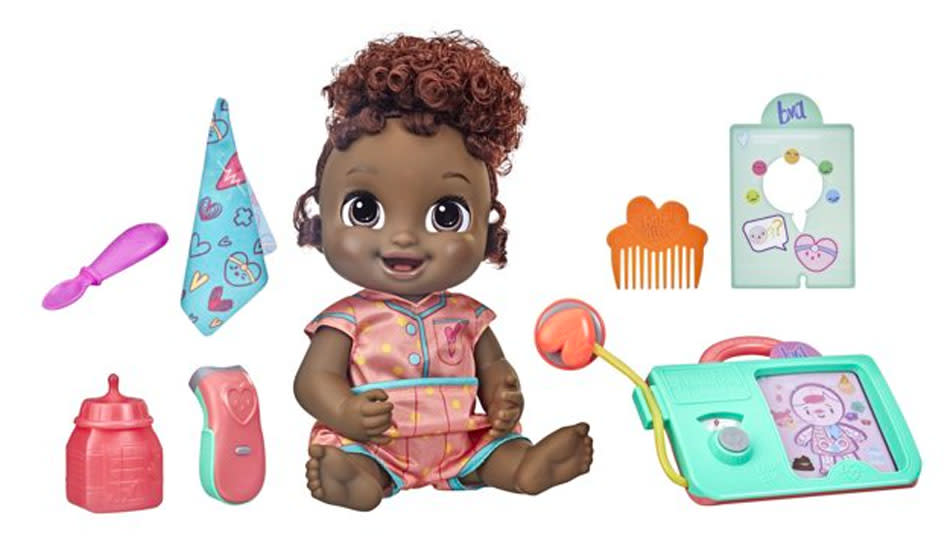 This baby doll really sneezes! (Photo: Walmart)