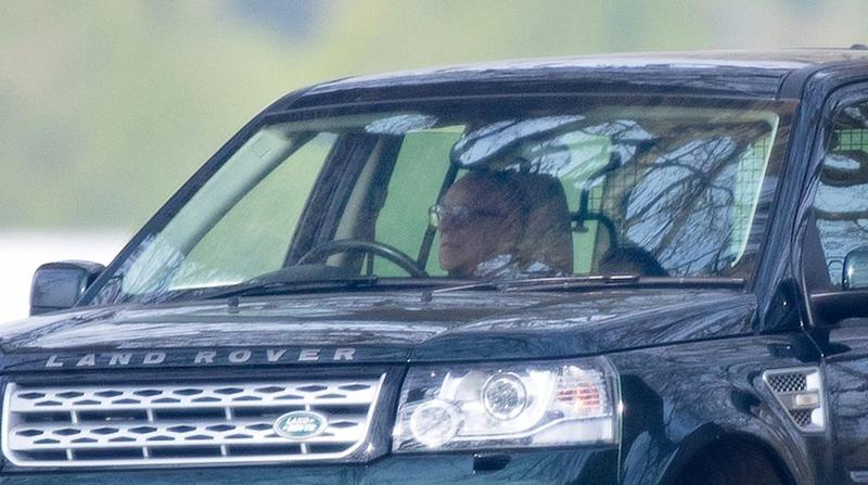 Prince Edward's Son, 11, Spotted Driving at Windsor Castle