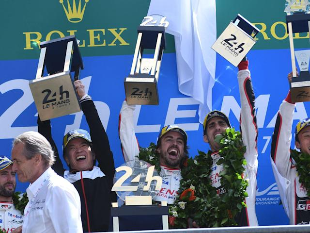 Le Mans 24: Fernando Alonso makes victorious debut as Toyota triumph