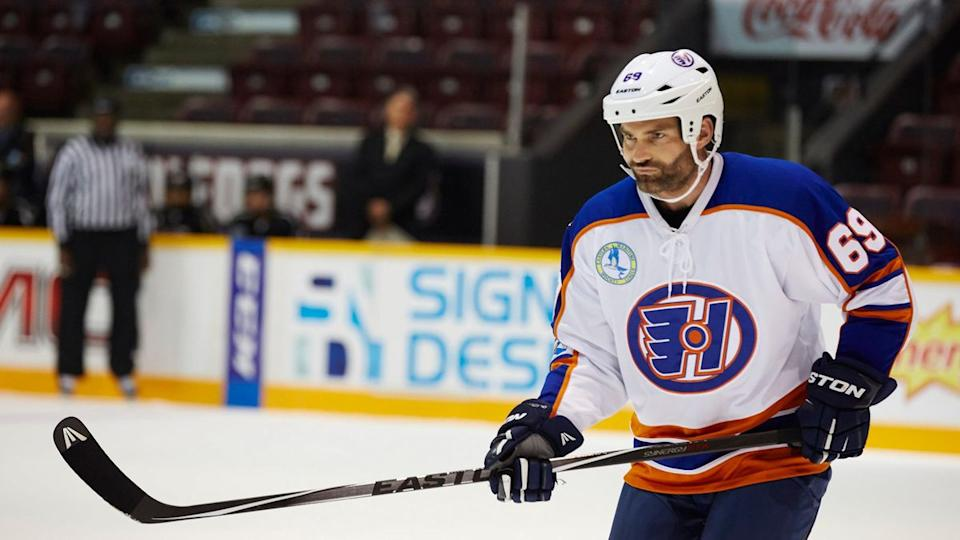Seann William Scott in 'Goon: Last of the Enforcers'. (Credit: eOne)