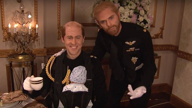 'SNL' Goes Inside Prince Harry and Meghan Markle's Exclusive Royal Wedding Reception