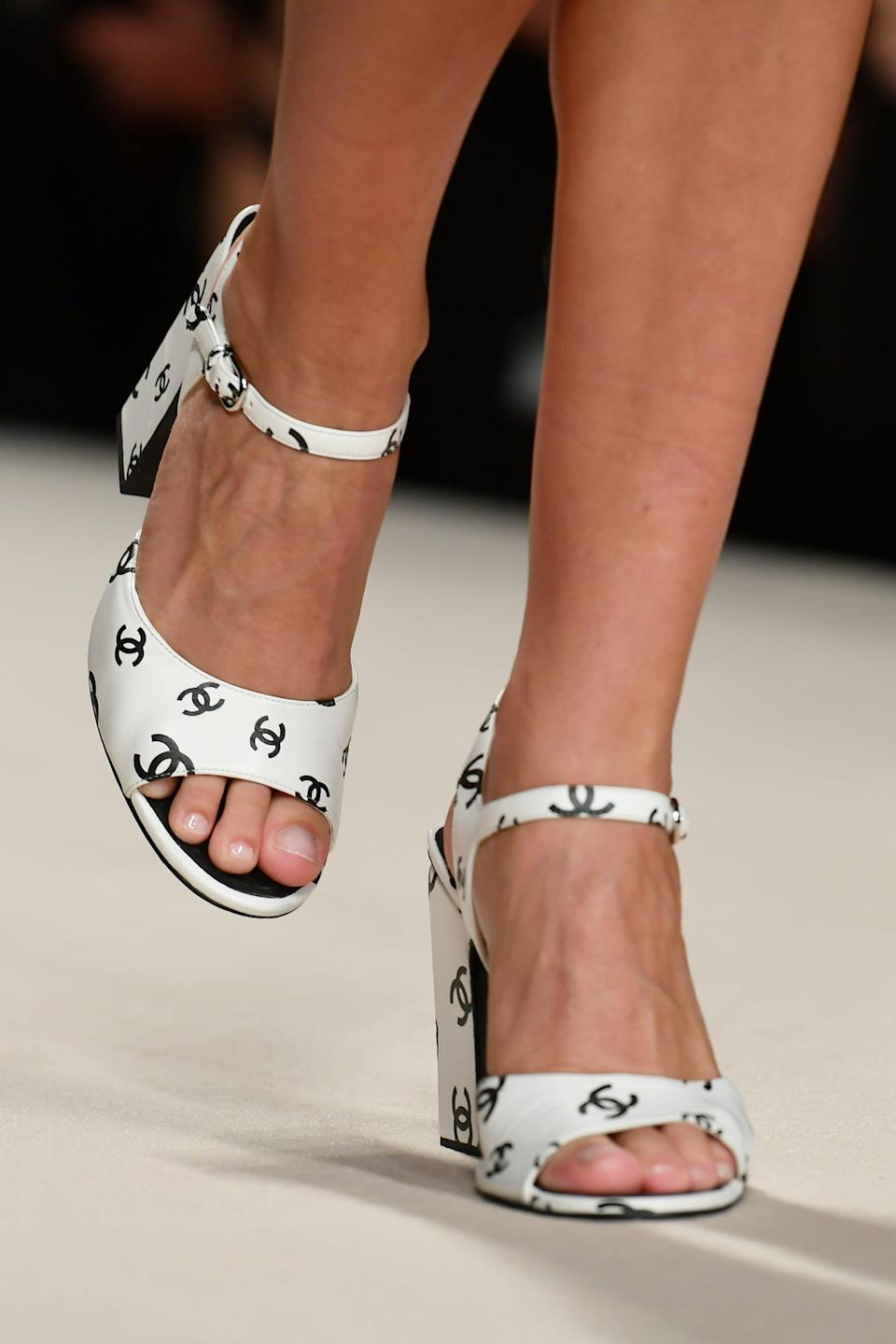 <p>Shoes from Chanel spring 2022 collection.</p>