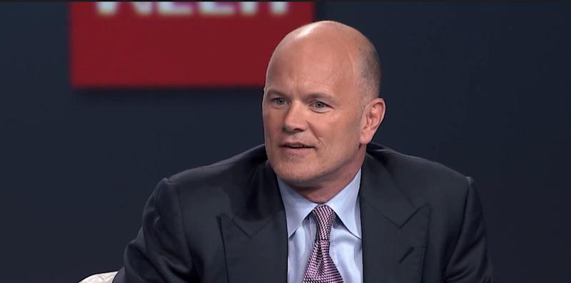 Wall Street executive turned crypto mogul Mike Novogratz doesn't get the Litecoin rally. | Source: Featured image from YouTube/WallStreetWeek.