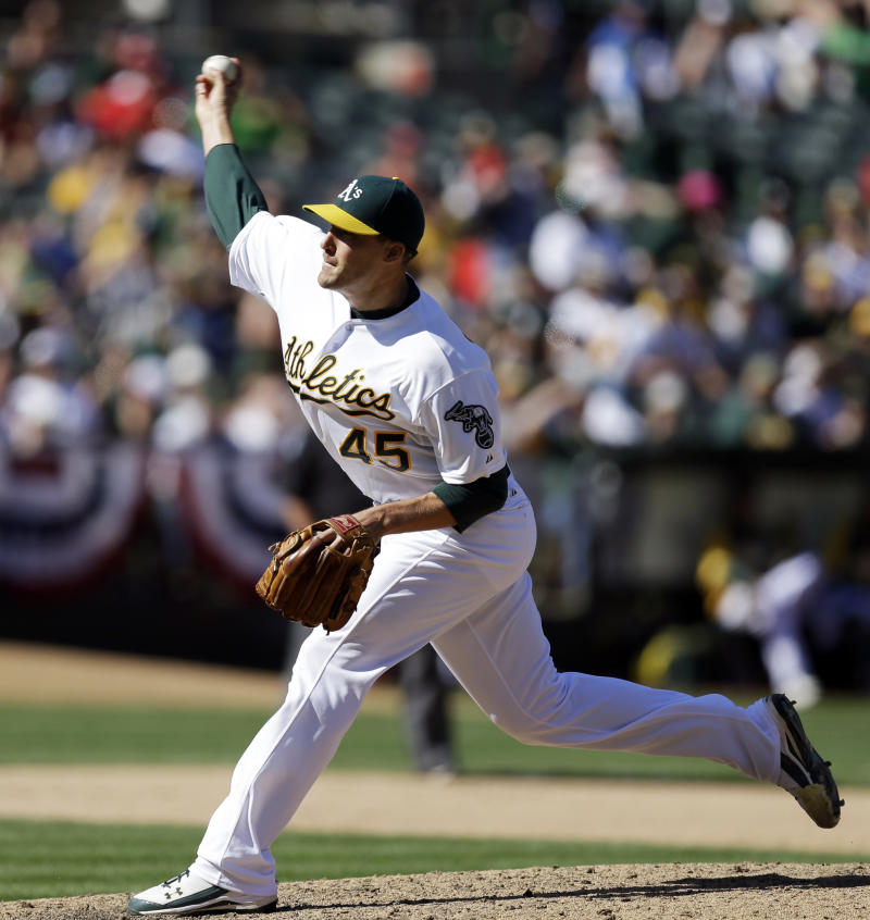 A's take struggling Jim Johnson out of closer role