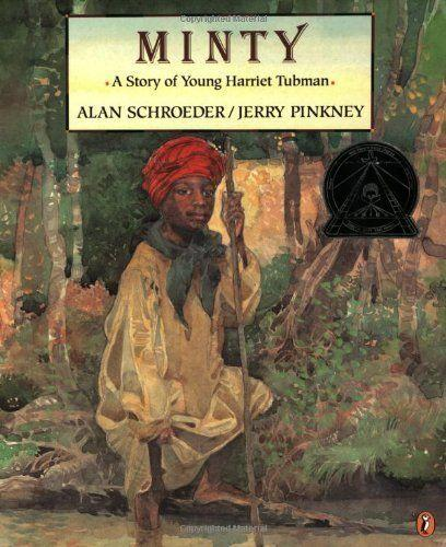 "<i>Minty</i>&nbsp;tells&nbsp;a fictionalized version of the backstory of&nbsp;<a href=""https://www.nytimes.com/interactive/2017/02/24/travel/underground-railroad-slavery-harriet-tubman-byway-maryland.html"" target=""_blank"">Harriet Tubman</a>, a significant figure in black history who led&nbsp;enslaved people&nbsp;to freedom on the Underground Railroad. (By Alan Schroeder, illustrated by Jerry Pinkney)"
