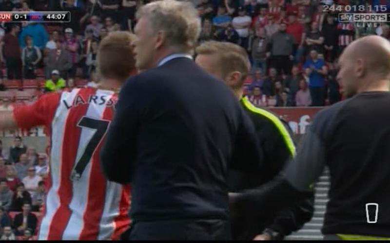 Larsson argues - Credit: sky sports
