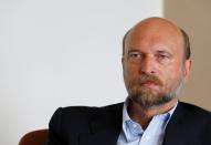 FILE PHOTO: Sergei Pugachev is seen during an interview with Reuters in Paris