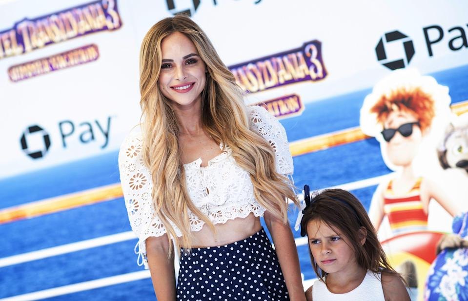 Amanda Stanton's older daughter got highlights at an Arizona salon over the weekend. (Photo: Valerie Macon/AFP/Getty Images)