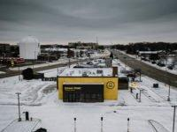 These photos of the first Guzman y Gomez location in the US look like the next season of 'Fargo'