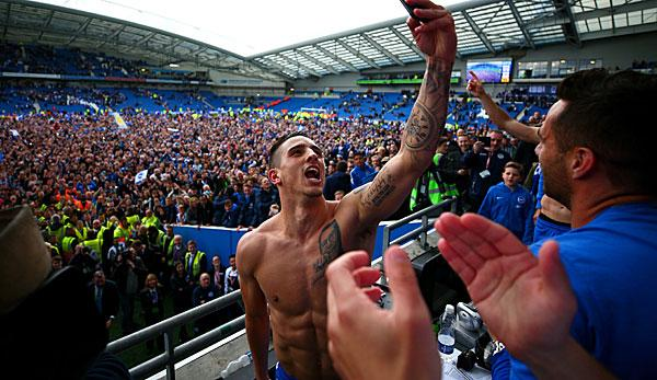 Premier League: Brighton steigt in die Premier League auf
