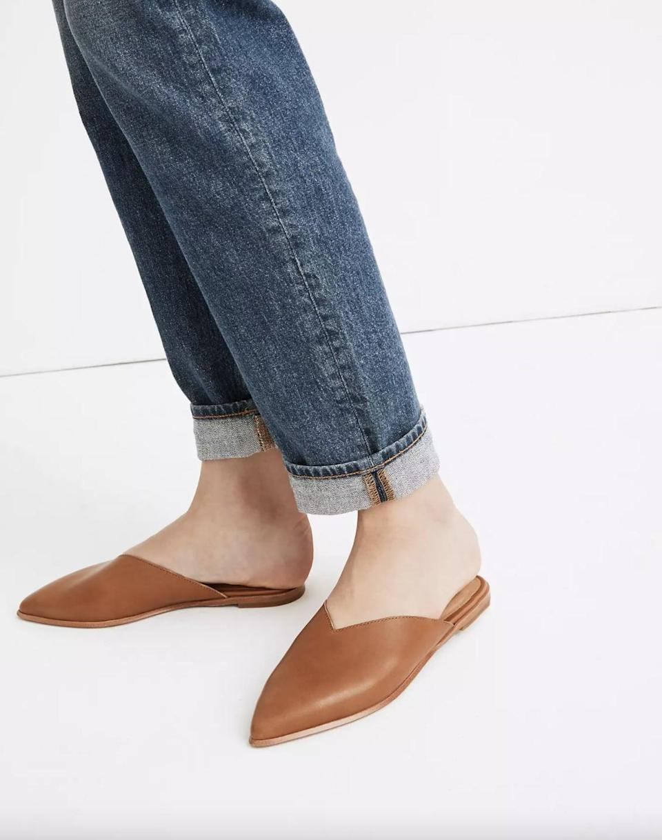 <p>These <span>Madewell Emilia Mules</span> ($70, originally $98) are a casual yet stylish pick you'll turn to every day.</p>