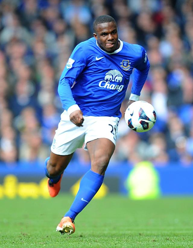 File photo dated 27/04/2013 of Everton's Victor Anichebe.