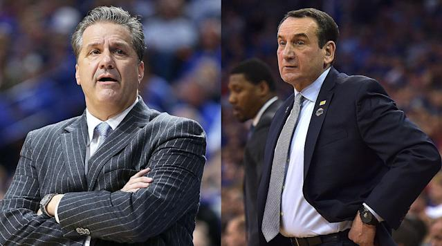 The Duke and Kentucky comparisons don't just stop at recruiting—both schools' names are heard plenty each June at the NBA draft, especially in the first round. Which school has fared better?