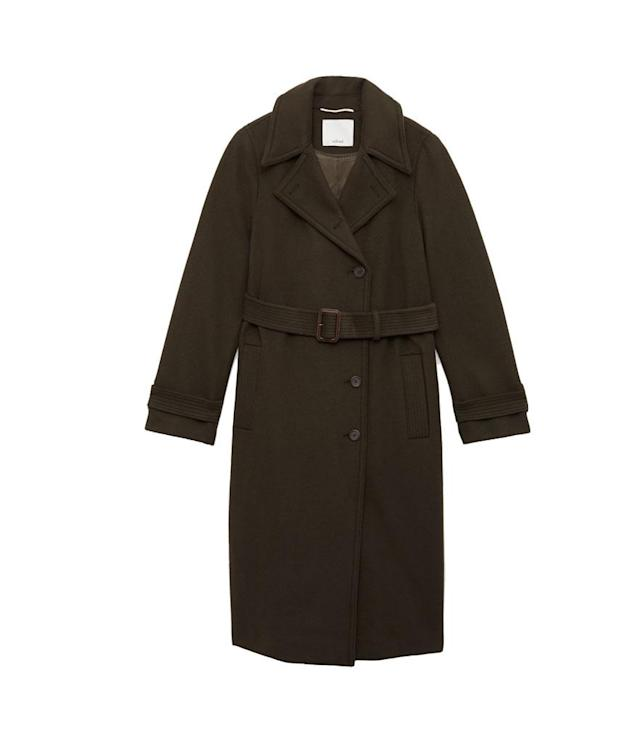 "<p>Wilfred Lylou Coat, $425, <a href=""http://us.aritzia.com/product/lylou-coat/64982.html?dwvar_64982_color=3657"" rel=""nofollow noopener"" target=""_blank"" data-ylk=""slk:aritzia.com"" class=""link rapid-noclick-resp"">aritzia.com</a><br> (Data: Long Tall Sally, Instagram) </p>"