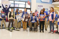 """<p><b>This Season's Theme:</b> """"Dealing with the daily aggravations but also moments of joy and fun that come with working a low-paying, unglamorous job,"""" says executive producer Justin Spitzer. <br><br><b>Where We Left Off:</b> The Cloud 9 crew, with the exception of Dina (Lauren Ash), walked out after store manager Glenn (Mark McKinney) got fired. <br><br><b>Coming Up:</b> In addition to exploring the workplace dynamic, Season 2 will touch on several Cloud 9 corporate issues. """"We touch on trans bathroom rights, and things like that,"""" says Spitzer. """"But we don't ever want to be overly political … We never want to feel like we're trying to teach people anything. We like issues when they give us a chance to explore our characters, or have fun, or present comedic opportunities without teaching a lesson."""" <br><br><b>A Screwball Duo:</b> Spitzer says Jonah (Ben Feldman) and Amy (America Ferrera) have always liked each other, even if they butt heads at work. """"I like to think their relationship is a little closer to Sam and Diane, where they like and hate each other at the same time,"""" he explains. <i>– VLM</i> <br><br>(Credit: Trae Patton/NBC)</p>"""