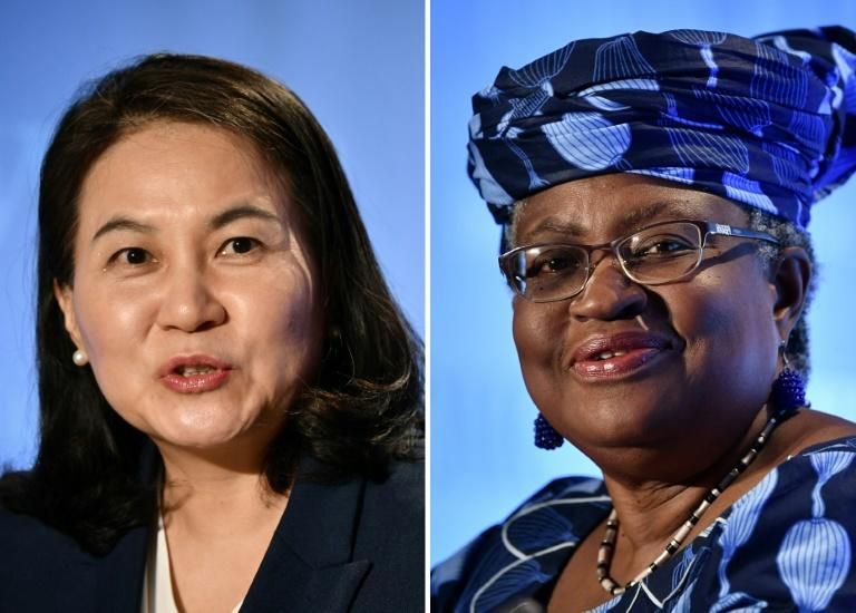 South Korean Trade Minister Yoo Myung-hee and Nigeria's former foreign and finance minister Ngozi Okonjo-Iweala are the finalists to lead the WTO