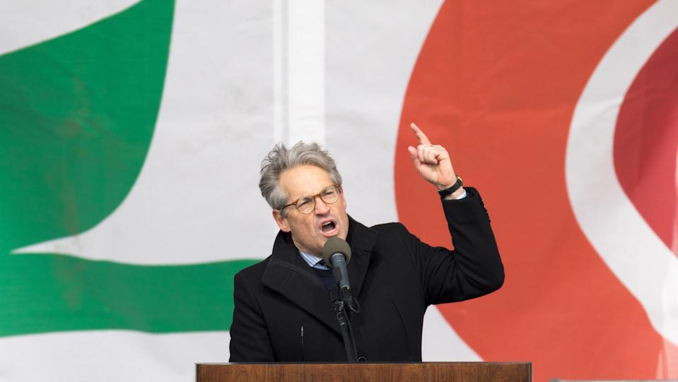 Eric Metaxas speaks during the 44th annual March for Life in Washington, D.C, on Jan. 27, 2017. (Photo: Tasos Katopodis/AFP/Getty Images)