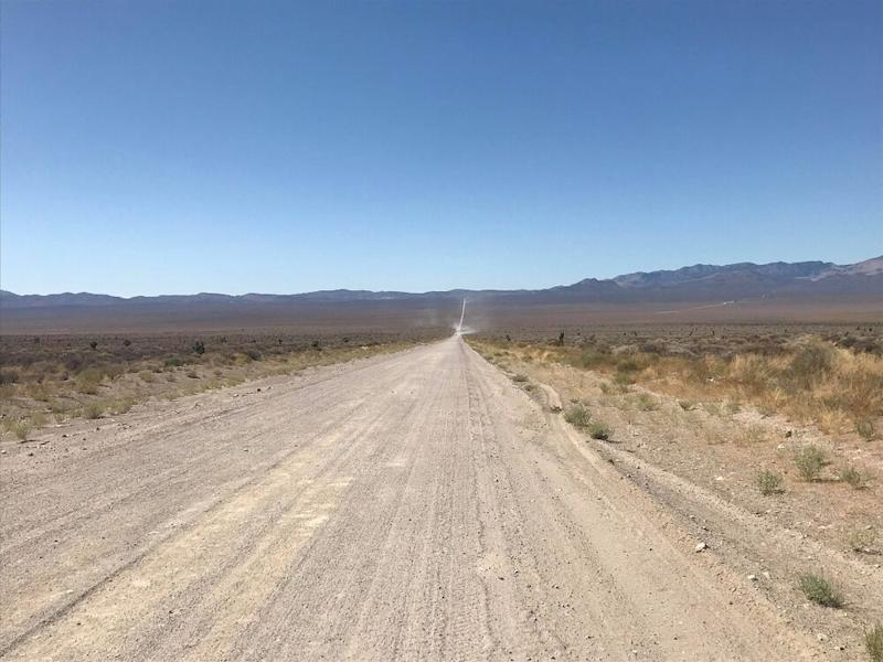 The approach to Area 51. | Jordan Runtagh