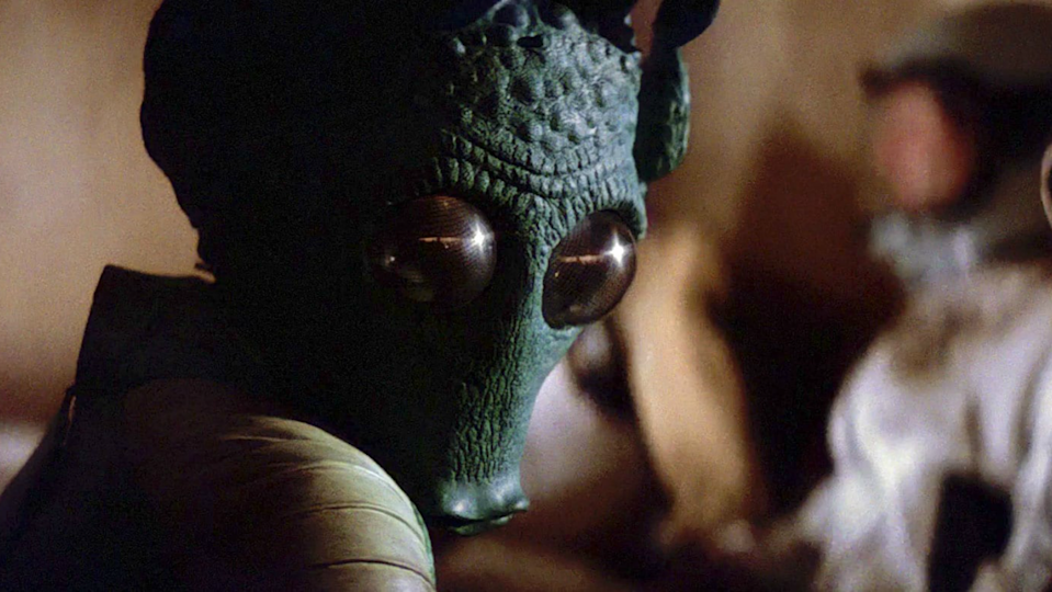 Greedo in 'Star Wars: A New Hope'. (Credit: Lucasfilm)
