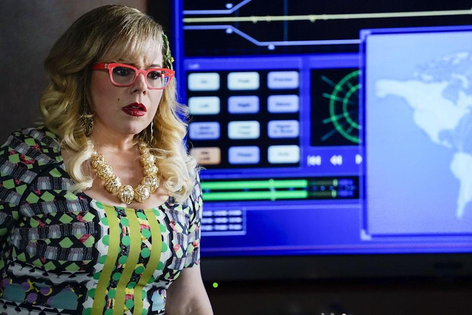 <p>The BAU's quirky technical analyst is considered by many to be the heart of the team. While some murder cases seem to eat away at Garcia, she never lets her softer side interfere with her work as the resident jill-of-all-technological-trades. </p><p>Kirsten Vangsness is best known for her role on <em>Criminal Minds</em>. She has also portrayed the same character on the spin-off series <em>Criminal Minds: Suspect Behavior</em> and <em>Criminal Minds: Beyond Borders</em>.</p>