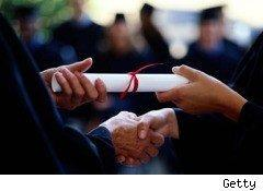 What is included in a school degree?