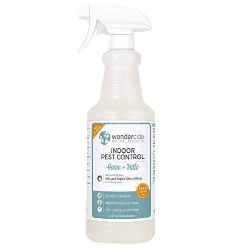 <p>Naturally repel home-invading pests with the <span>Wondercide Natural Indoor Pest Control Home and Patio Spray </span> ($35).</p>