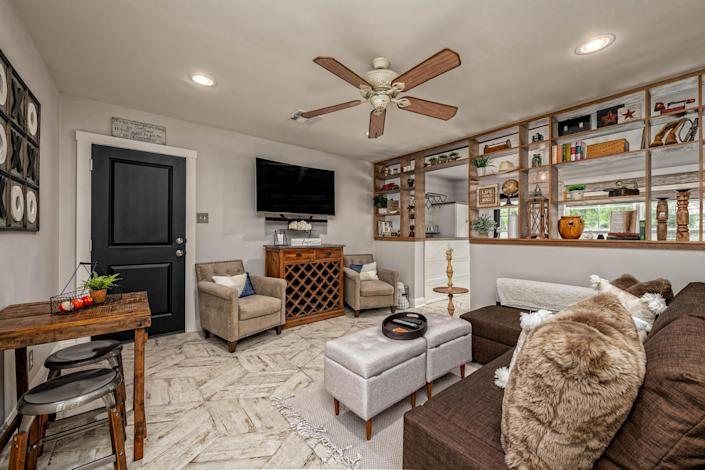 The listing agent for the home said that the only changes since the