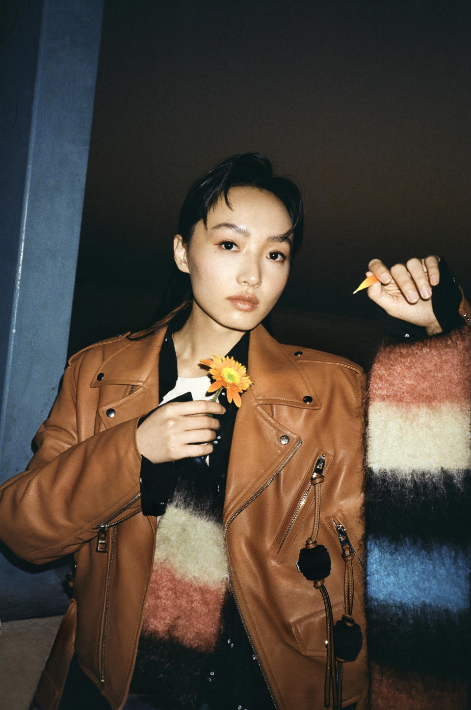 Cecilia Choi in My Neighbour Totoro collection. (PHOTO: Loewe)