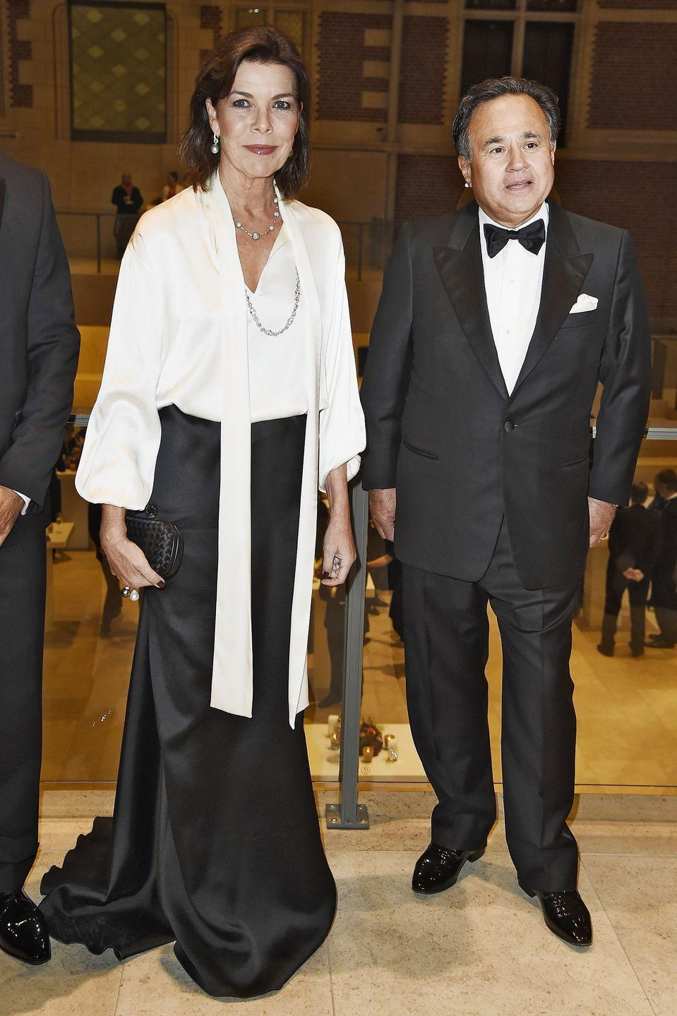 <p>Princess Caroline went for an understated elegance for a gala in Amsterdam in 2014. </p>