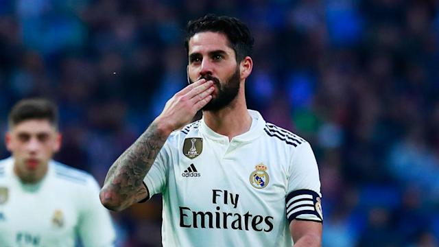 Isco was handed his first start under Santiago Solari as Real Madrid hosted Melilla in the Copa del Rey and he responded with two goals.