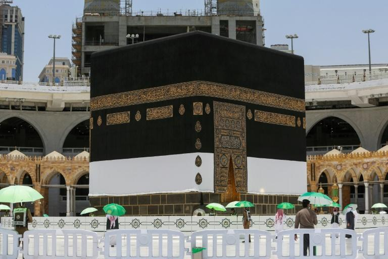Up to 60,000 Muslims residing in Saudi Arabia were chosen through an online vetting system to take part in this year's downsized annual hajj pilgrimage from more than 550,000 applicants