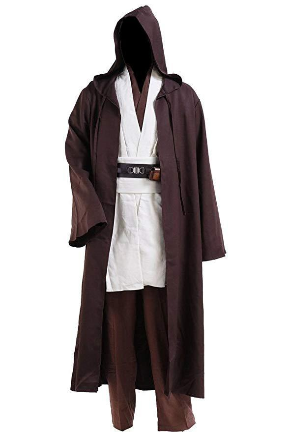 jedi halloween costume with robe and tunic