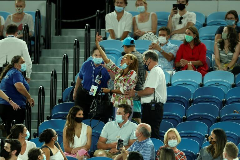 A spectator was ejected during Rafael Nadal's match