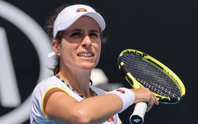 Johanna Konta - Johanna Konta backs merger between women's and men's tour... but only on condition of full equality - GETTY IMAGES